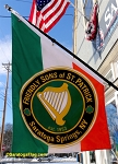 ..FRIENDLY SONS OF ST. PATRICK NYLON BANNERS- 5FT x 3FT Angle-Top